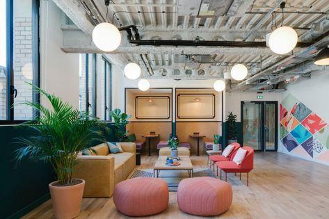 New WeWork Paris La Fayette Location Office Design