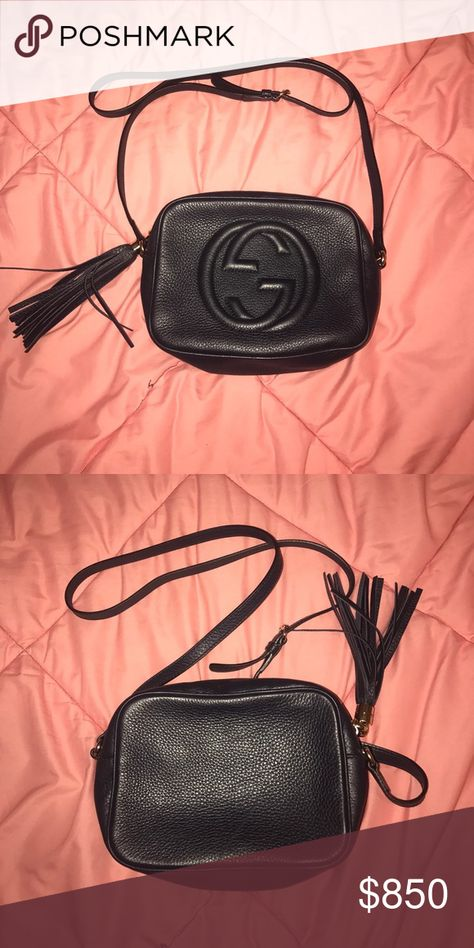 c031bceba1053 Gucci Soho leather disco bag Used but it great condition!!! This is a