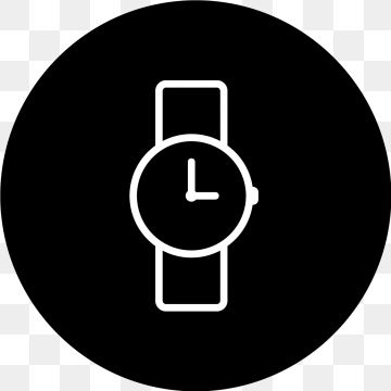 Vector Watch Icon Watch Icons Clock Time Png And Vector With Transparent Background For Free Download Snapchat Logo Watches Logo Icon