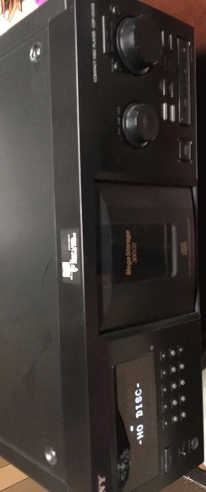 sony cdp cx355 mega storage 300 compact disc cd player changer rh pinterest com Sony CX355 New Sony Digital Camera Disk