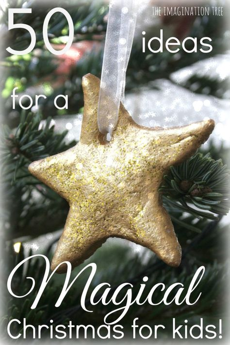 50 magical Christmas traditions to start as a family! Pin now and choose a couple to try each year!