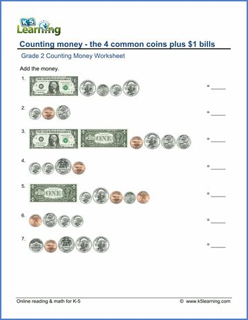 Free Money Worksheets Money Worksheets Money Math Counting Money Worksheets