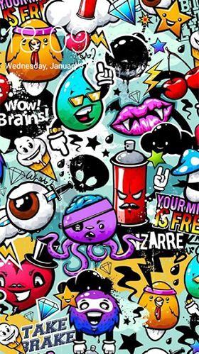 Download Free Android Wallpaper Doodle Art Graffiti Wallpaper