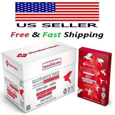 Details About Member S Mark Multipurpose Copy Paper 20 Lb 92 Bright 8 5 X 11 10 Ream Case Copy Paper Paper Case