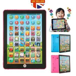 Baby Toddler Kids Learning Tablet Educational Toys 3 6 Years Educational Ipad Ebay Kids Computer Math Gift Learning Tablet