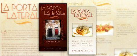 Branding: Restaurant Logo/Business Card - Edwards Communications