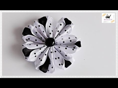 Today I Will Show You Fast And Easy Way To Make Bouquet Made From Ribbon Roses Needed I Ribbon Flower Tutorial Fabric Flower Tutorial Felt Flower Headband