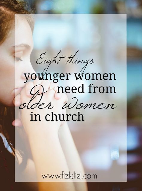 Bridging generational gaps in church is not always simple but expected of us. What we can learn through older women is necessary for our spiritual growth as well as personal growth. We need you right where you are with all your knowledge and stories, triu Titus 2 Woman, Christian Women's Ministry, Womens Ministry Events, Mentor Quotes, Biblical Womanhood, Godly Woman, Virtuous Woman, Bible Lessons, Spiritual Growth