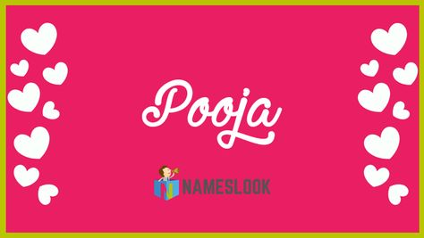 #Pooja Meaning - Prayer, Worship, Devoted to God, Idol worship . Read interesting details about the name Pooja 👇👇👇  . #PoojaYaDooja #NameMeaning 📛 #MeaningOfMyName ✍️ #NamesLook 📣