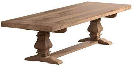 Amazon Com Florence Rectangular Double Pedestal Dining Table