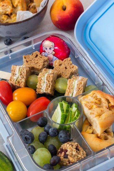 Photo of Schnelle, gesunde Snacks für die Lunchbox