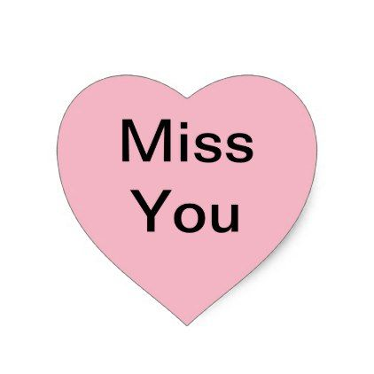 Miss You Stickers To Use On Cards Or Such Zazzle Com Com Imagens