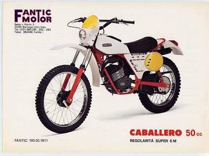 Fantic Motor Canallero 50cc Regolarità Super 6m | Retro/Vintage