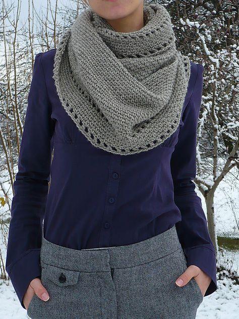 calm cowl  free #crochet pattern