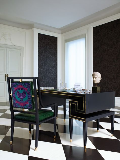 41+ Versace dining table and chairs for sale Best