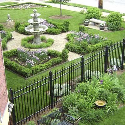 We Have Incorporated Key Elements Of Victorian Garden Design Into Our Landscape By Creating Expanses Of Victorian Gardens Formal Garden Design Garden Planning