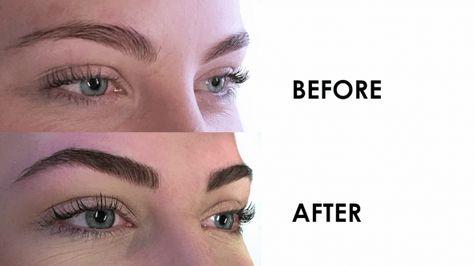 Women Get Their Eyebrows Tattooed #eyemakeup #eye #makeup #videos
