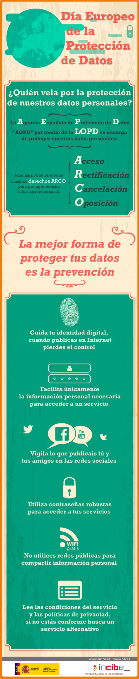 7 Ideas De Protección De Datos Proteccion De Datos Datos Protecciones