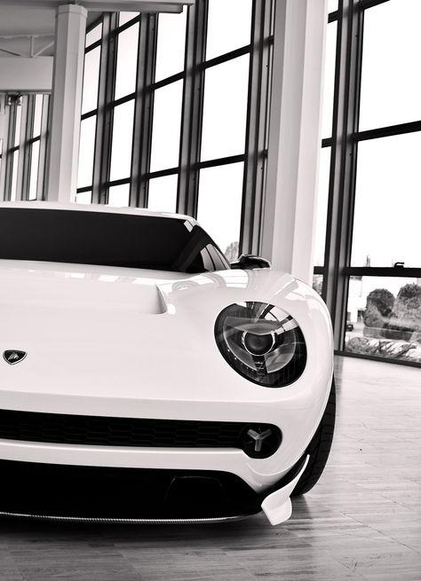 Lamborghini Miura Concept  A great take on the original version.