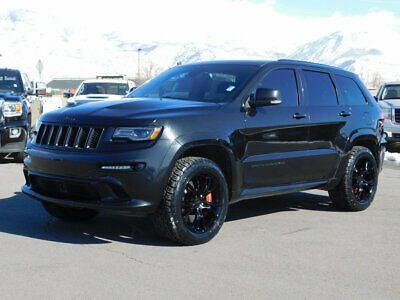 2015 Jeep Grand Cherokee Srt Lifted Jeep Grand Cherokee Srt 4x4 6 4l Hemi Leather Navi Roof Custom Tires