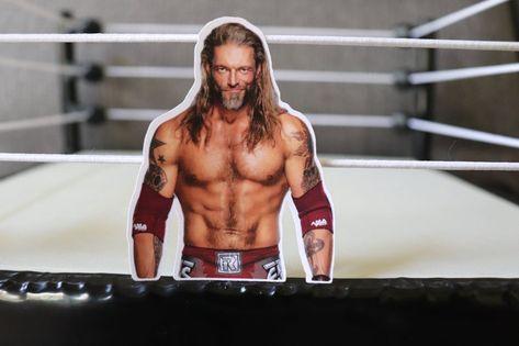 Edge WWF Sticker World Wrestling Federation WCW/nwo Hulk | Etsy