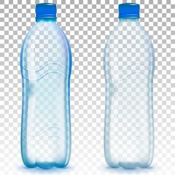 Realistic Plastic Bottles Drop Translucent Color Png And Vector With Transparent Background For Free Download Imagenes De Plasticos Ilustracion Vectorial Botella De Plastico