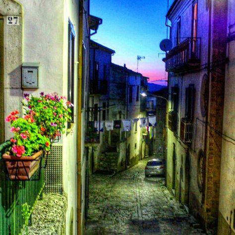fiori L'ultimo tramonto molisano......