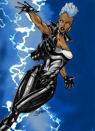 X Men Storm By Monobun On DeviantArt