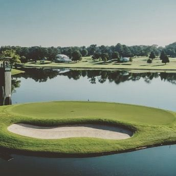 An Epicgolfshot Of The Beautiful East Lake Golf Course In