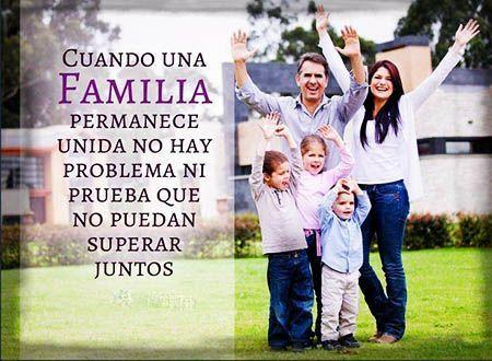 Imagenes De Amor Con Frases De Una Familia Spanish Memes Family Reunion Family