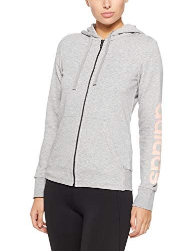 adidas Damen Essentials Linear Windbreaker Jacke: