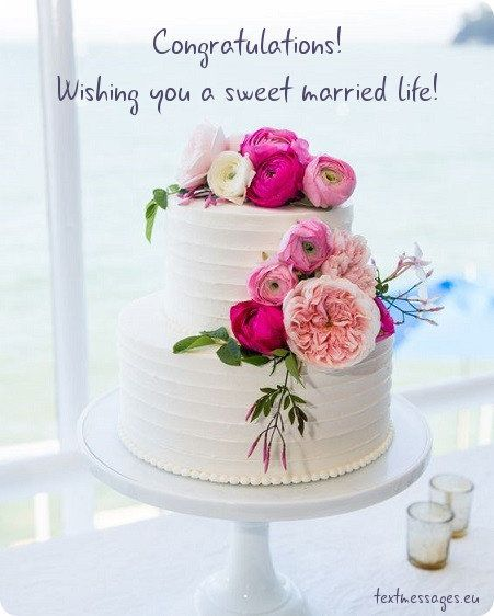 Marriage Card Simple Wedding Cake Floral Wedding Cakes Wedding Cakes With Flowers