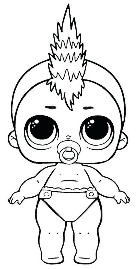 Lol Dolls Coloring Pages Lol Dolls Coloring Pages For
