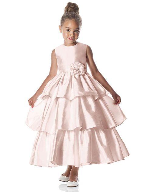 51d2d857c19 Dessy FL4029 Flower Girl Dress.  flowergirls  wedding  girldress  dessy   DessyFL4029Flowergirl ...