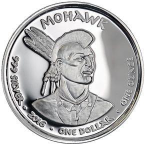 2016 1 Oz Proof New York Mohawk Raccoon Silver Coin Silver Coins Coins Coin Design