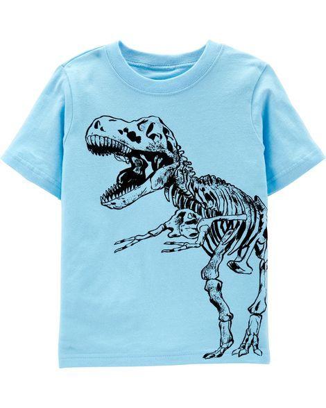 Boy/'s Size 8//10 Dinosaur Roar Tyrannosaurus T-Rex Dino Pajama Set
