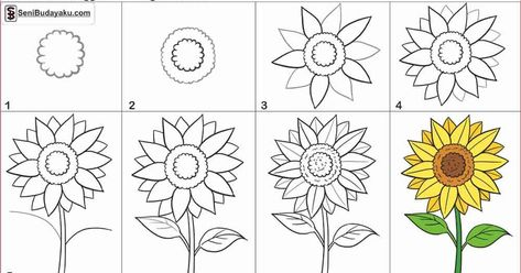 Gambar Bunga Teratai Mudah Gambar Sketsa Bunga Sketsa Merupakan Salah Satu Tahap Awal Dari Sebuah Cara Menggambar Bunga Ter Gambar Bunga Bunga Teratai Bunga