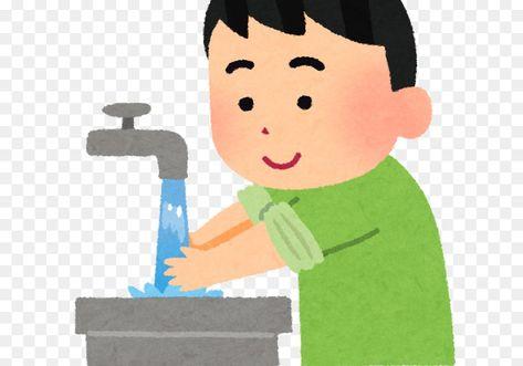 Baru 30 Gambar Kartun Cuci Tangan Di 2020 Mencuci Tangan