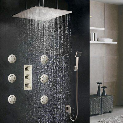 Fontanashowers Sofia Volume Control Complete Shower System With