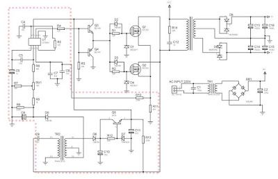 SMPS Power Amplifier using 2 Mosfet Transistor | Power