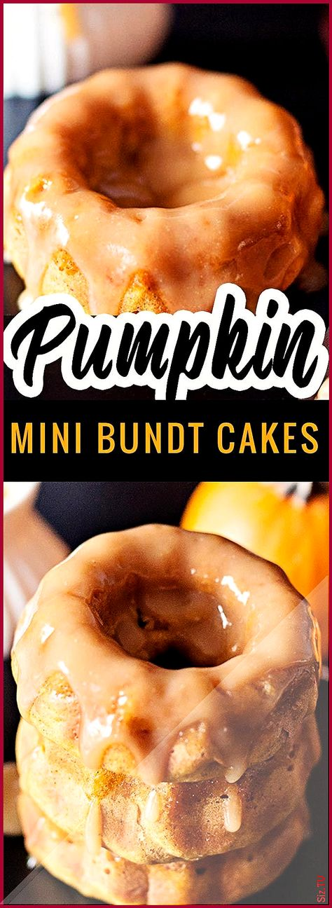 These Pumpkin bundt cakes are so moist perfectly spiced and topped with a homemade apple cider sauce They bake beautifully Follow this recipe and y  These Pumpkin bundt cakes are so moist perfectly spiced and topped with a homemade apple cider sauce They bake beautifully nbsp  hellip   #apple #Bake #beautifully #Bundt #Cakes #cider #Follow #Homemade #homemade fall Cupcake #Moist