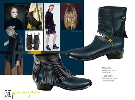 Trend information and design proposals for women's and men's shoes in an inspiring trend book. SHOES Trend Book provides you with the latest trend information and new inspirat