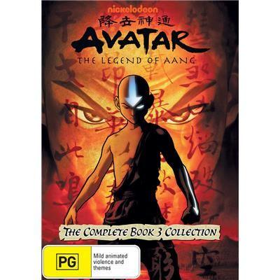 Avatar The Last Airbender Complete Book 3 4 Dvd Jb Hi Fi