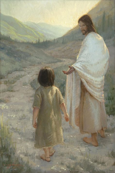 Trust In The Lord Painting by James L Johnson