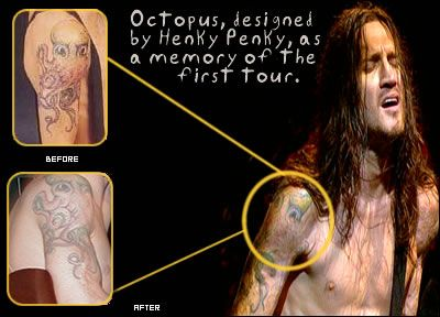 Tattoo tribal john frusciante Authorities searching