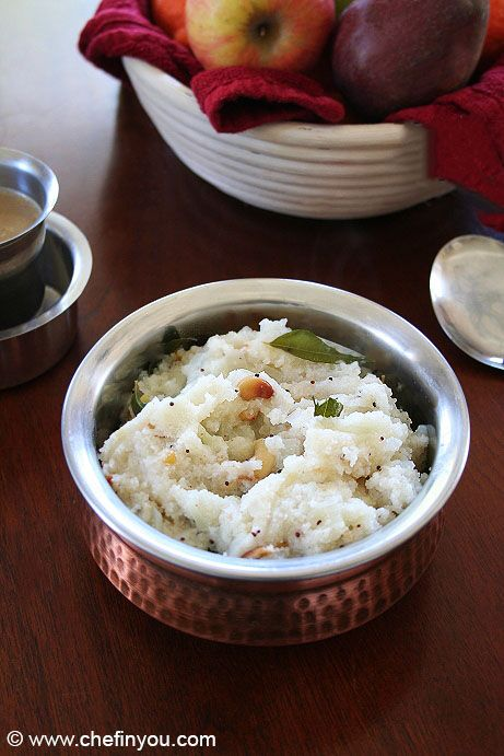 Opos Rava Upma Recipe Opos Cooking Recipes South Indian