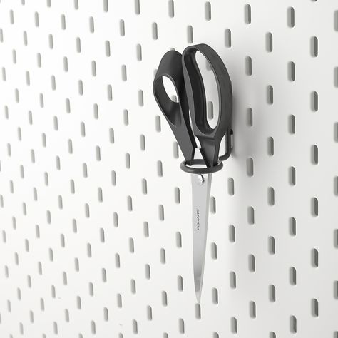 Skadis Werkzeughalter Grau In 2020 Werkzeughalter Halte Durch Und Lochplatte