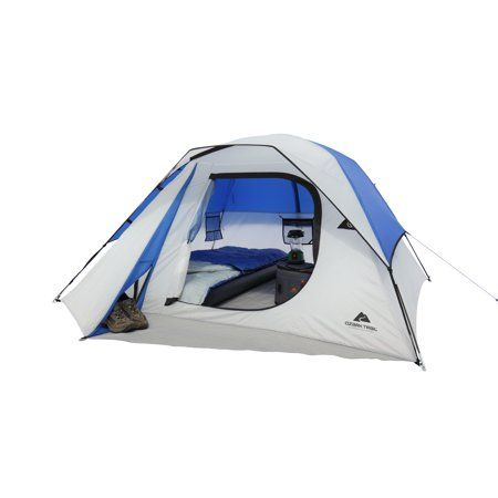 Ozark Trail 4 Person Outdoor Camping Dome Tent Walmart Com Family Tent Camping Tent Dome Tent
