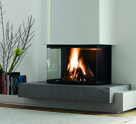 Fireplaces and stoves - Palazzetti nel 2019   Camino moderno ...