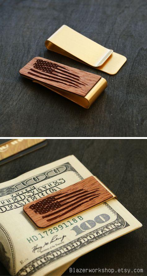 9cad3245d761 personalized money clip costom slim wallet card wallet cardholder card  holder card case minimalist wallet best wallet wood wallet small wallet  simple wallet ...